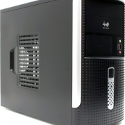 Корпус Mini Tower InWin EM-001BS 450W mATX
