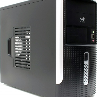 Корпус Mini Tower InWin EM-001BS 500W mATX
